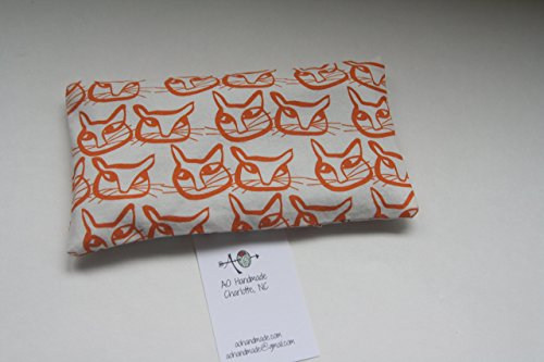 The Soother, Eye Pillow - unscented or scented with lavender and filled with rice
