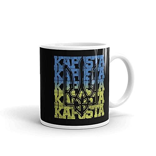 N\A Ukraine Kiew Flagge Wappen Heimat Ost Geschenk Tasse 3