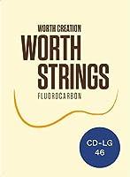 Worth Strings CD-LG ウクレレ弦 クリアハード Low-G 46インチ フロロカーボン