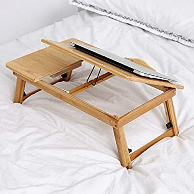 Laptop Bed Table,Portable Lap Desk,Notebook Stand Reading Holder,Breakfast Tray Dining Table,for Eating Breakfast,Reading,Watching Movie on Bed/Sofa