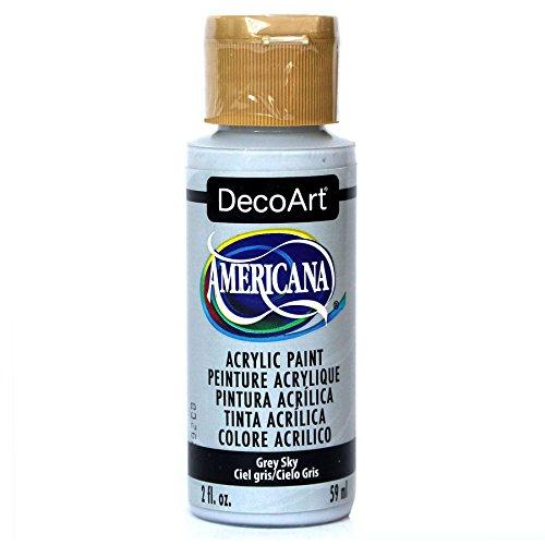 Deco Art Americana Peinture Acrylique Multi-usages, Gris, Ciel