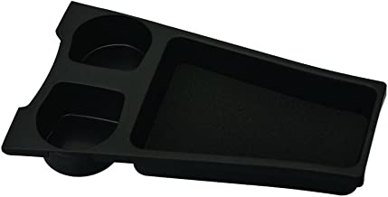 Carmate Cup Holder Tray Black for Toyota Prius