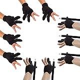 Billiard Glove Elastic Lycra 3 Fingers Show...