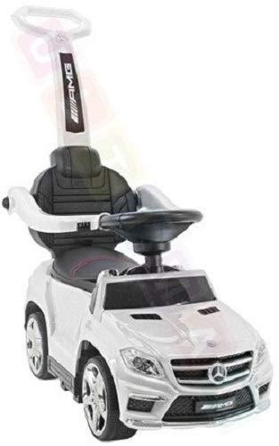 Coche para niños Correpasillo con función de Mecedora: Mercedes GL63 AMG SX1578...