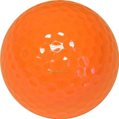 Quality Standard Orange Miniature Golf Ball