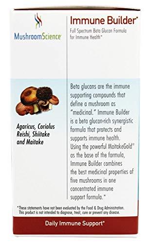 Mushroom Science, Immune Builder, 90 Capsules
