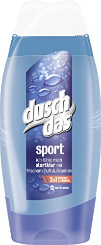 Duschdas for Men Duschgel Sport, Doppelpack (2 x 250 ml)