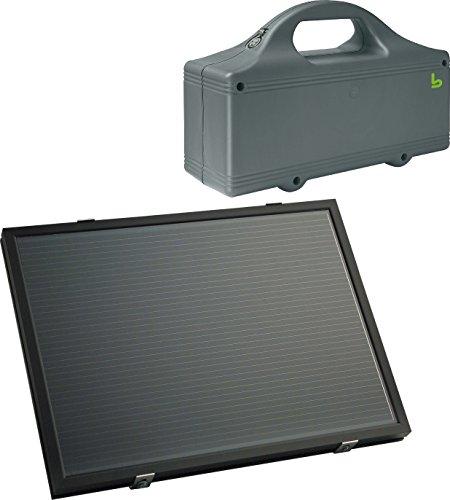 Berner Torantriebe Solarpaneel Garagentorantrieb 4250035404892