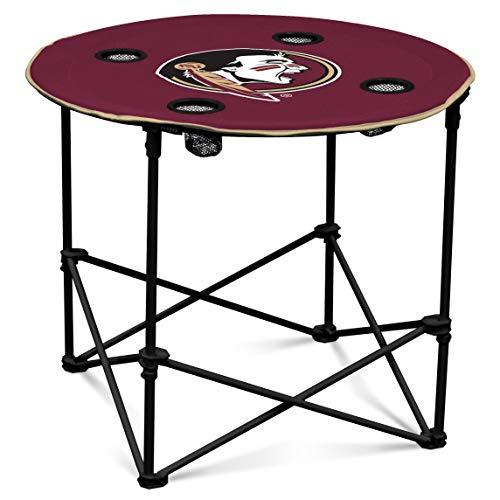 Logo Brands NCAA Florida State Seminoles Round Table, One Size, Team Color