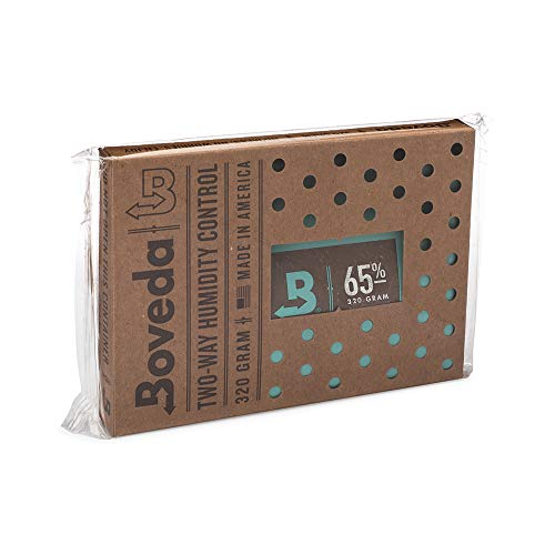 Boveda 葉巻/タバコ用 65-RH 2-湿度 コントロール サイズ 320 使用 最大 100 葉巻 特許 技術 シガー ヒュミドール 1-カウント