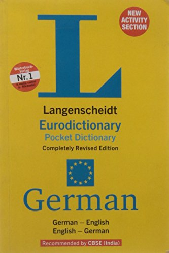 LANGESCHEIDT EURODICTIONARY POCKET DICTIONARY