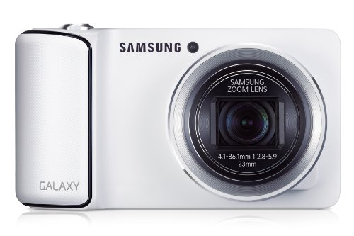 Samsung EK-GC100 Digitale Kompaktkamera (16 Megapixel, 21-Fach Opt. Zoom, Bluetooth, Weiß