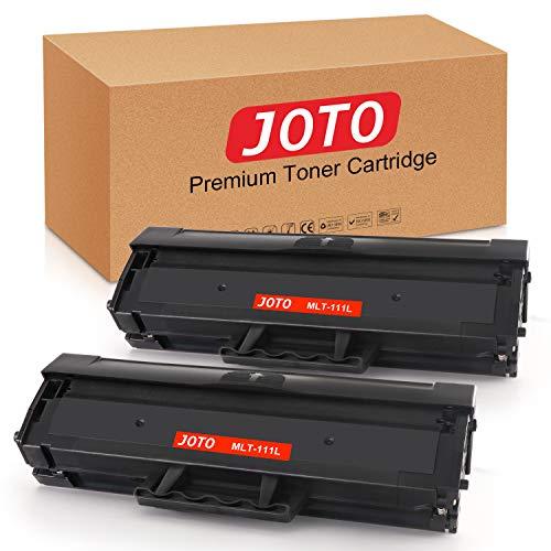 JOTO MLT-D111S MLT-D111L (2 Negro,2000 páginas) Cartucho de Tóner Compatible para Samsung D111S 111S con Samsung Xpress SL-M2026W M2020W M2070 M2070FW M2026 M2020 M2022 M2022W M2070W M2070F M2078W