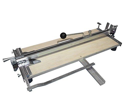 Profi Fliesenschneider Fliesenschneidmaschine 610 mm Schnittlänge + Gratis Winkel für Diagonalschnitte