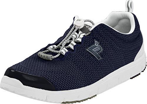 Propet Women's Travelwalker II Shoe,Navy Mesh,6.5 N US