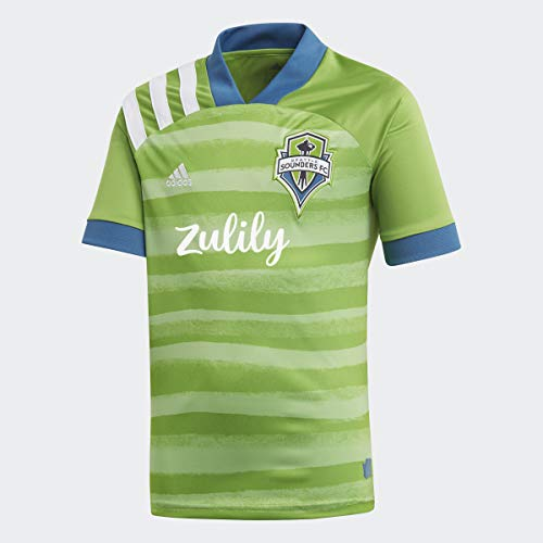 adidas Seattle Sounders FC Home Jersey Kids', Green, Size L