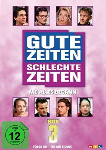 Gute Zeiten, schlechte Zeiten - Wie alles begann - Box 3, Folgen 101-150 (5 DVDs)