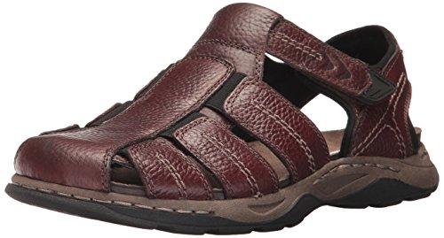 Dr. Scholl's Shoes Men's Hewitt Fisherman Sandal, Brown, 8 M US
