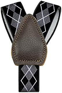 GO Belt Shirt Holder For Men Black & Silver