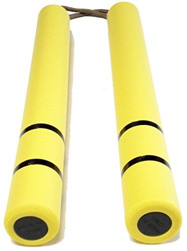 ヌンチャク ブルース・リー 死亡遊戯 イエロー 黄色 ラバー製