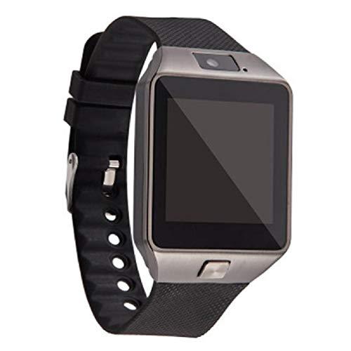 EATAN Pantalla táctil reloj inteligente dz09 con cámara Bluetooth reloj de pulsera Relogio tarjeta SIM smartwatch para xiao mi i teléfono Sam reloj cantado