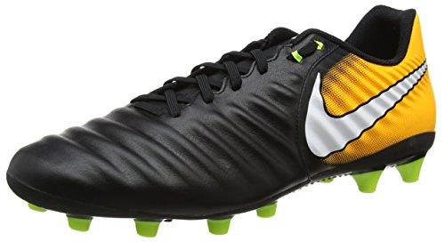 Nike Tiempo Ligera Iv Ag-Pro, Scarpe da Calcio Uomo, Nero (Black/white-laser Orange-volt), 41 EU
