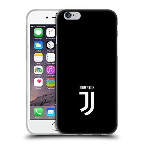 Head Case Designs Offizielle Juventus Football Club Klar Lifestyle 2 Soft Gel Handyhülle Hülle Huelle kompatibel mit Apple iPhone 6 / iPhone 6s