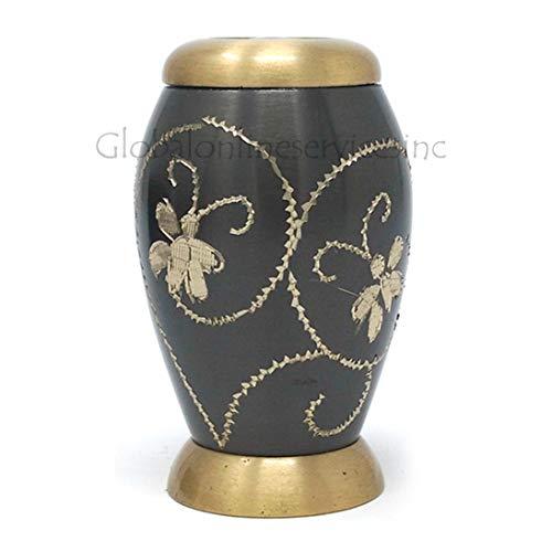 Cremation Urns Urne funéraire pour Cendres funéraires humaines Motif Floral