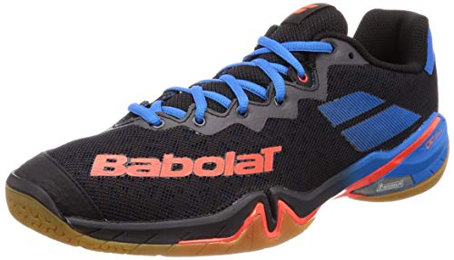 Babolat Shadow Tour Mens Indoor Court Shoe (Black) (9.5)