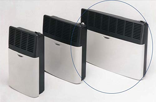 Eskabe Vented Natural Gas (NG) Heater 17,000 BTU DVEL 20NG Escape Modulating Thermostat Requires NO Electricity