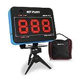 NETPLAYZ Speed Radar/Video-Record Sensor - Sports Gifts, Equipment & Gear (Baseball Pitching, Soccer Football Shooting, Golf Bat Swing) Radar Guns, Speed Tracker, NIS171132020, Blue