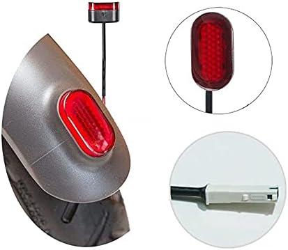 Flycoo2 M-4 Flycoo Feu arrière de Rechange pour Scooter électrique Xiaomi M365 - Noir/Rouge