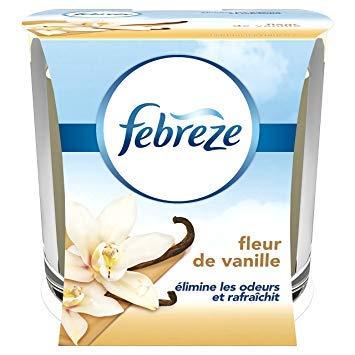 Febreze Duftkerze geruchshemmend Fleur de Vanille 100g–Lot de 2