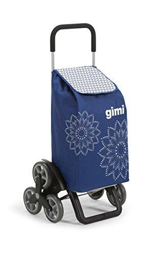 Gimi Tris Carro de la compra, con 6 ruedas, Bolsa