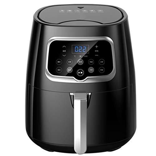 4.5L Air Friteususes Oil Free Frying technologie elektrische hetelucht friteuse oven, 7 recepten alleen voor programma's, LED digitaal touchscreen