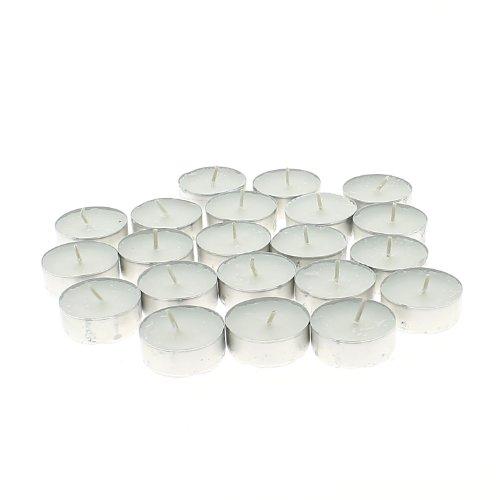 Générique - Lot de 50 bougies chauffe plat blanc