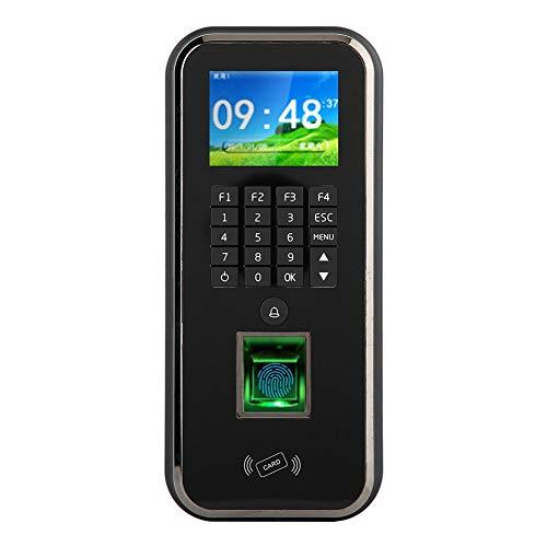 Fingerabdruck Passwort Karten Zeiterfassungssystem für bis zu 5,000 Mitarbeiter, Elektronische Stempeluhr zum Stundennachweis mit Feuermelder, Riantsoft Verwaltungssoftware