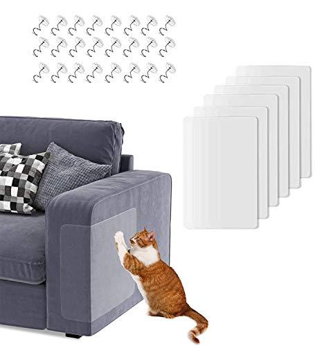 HIQE-FL Kratzschutz for Katze Hund,Katze Kratzschutz Tür,Kratzschutz Möbel Für Sofa,Couch Protection,Scratch Protection Cat,Cat Scratch Protection