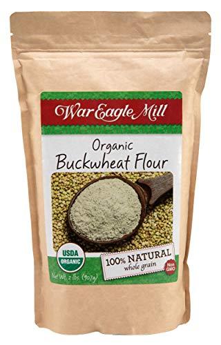 War Eagle Mill Buckwheat Flour, Organic and non-GMO (2 lbs)
