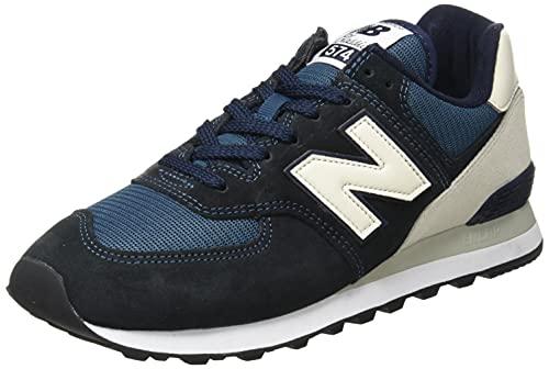 New Balance Herren ML574V2 Sneaker, Eclipse, 45 EU