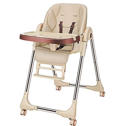 Best Bargain LMEIL High Chair for Babies and Toddlers,Folding Adjustable Toddler Chair with Removabl...