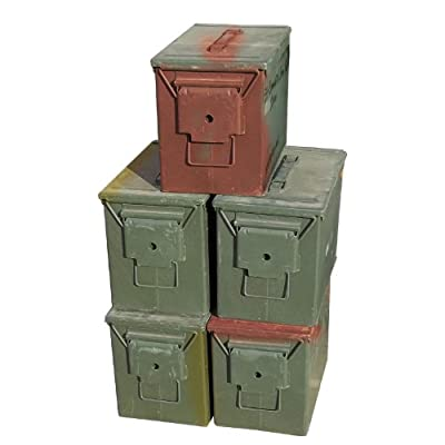 U.S. Military Fat 50 Ammo Can-Grade 2 (5 Pack)
