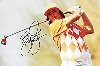Rickie Fowler Autograph - Signed Golf Poster Photograph