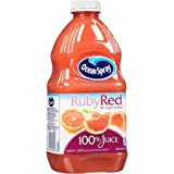 100% Juice, Ruby Red Grapefruit, 60 Fl Oz, 1 Count,Pack of 4