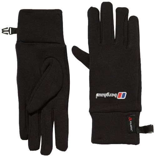 Berghaus Uni Handschuh Powerstretch AU, black, L/XL, 4-47354/1