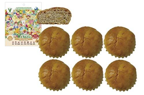 無添加パン Vエイドパンデイリー プレーン&くるみ 6個 ★宅配便★製法と包材を工夫することで保存料を使わずに賞味期間3ヶ月を実現した動物性原料不使用の「Vエイドパンデイリー」が新発売!しっとり柔らかい食感のパン生地にくるみを混ぜ込みました。くるみの香ばし