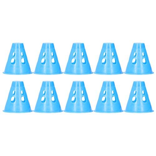 10 Piezas Tienda de Campaña Tapa de Advertencia de Uñas Tienda de Campaña Tapa de Advertencia Decorativa Siete Colores Diseño Hueco a Prueba de Agua Interruptor Giratorio para Picnic al Aire