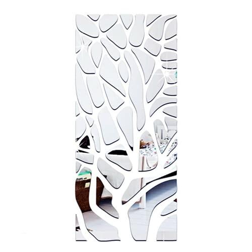 DHTOMC Graz Design - Adhesivo decorativo para pared, diseño de espejo