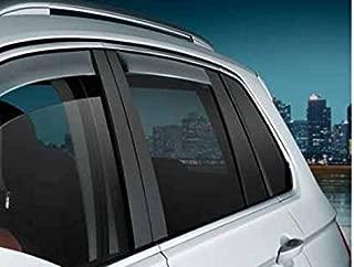 Black ClimAir 3953 D/éflecteurs lat/éraux Dark Volkswagen Tiguan 5 Portes 2016