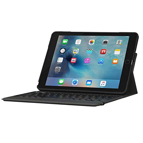 ZAGG Rugged Messenger for iPad 2017 and 2018, Black